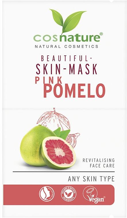 Maseczka z różowego grejpfruta - Cosnature Beautiful Skin Mask Pink Pomelo — фото N1