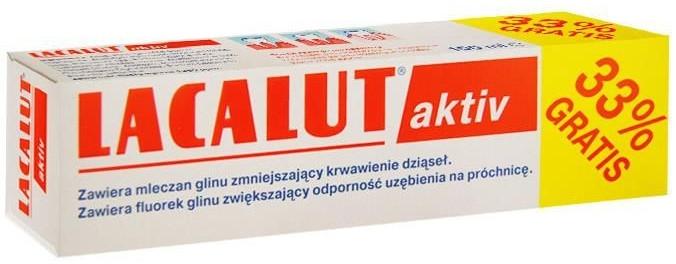 Pasta do zębów przeciw krwawieniu dziąseł - Lacalut Aktiv — фото N1