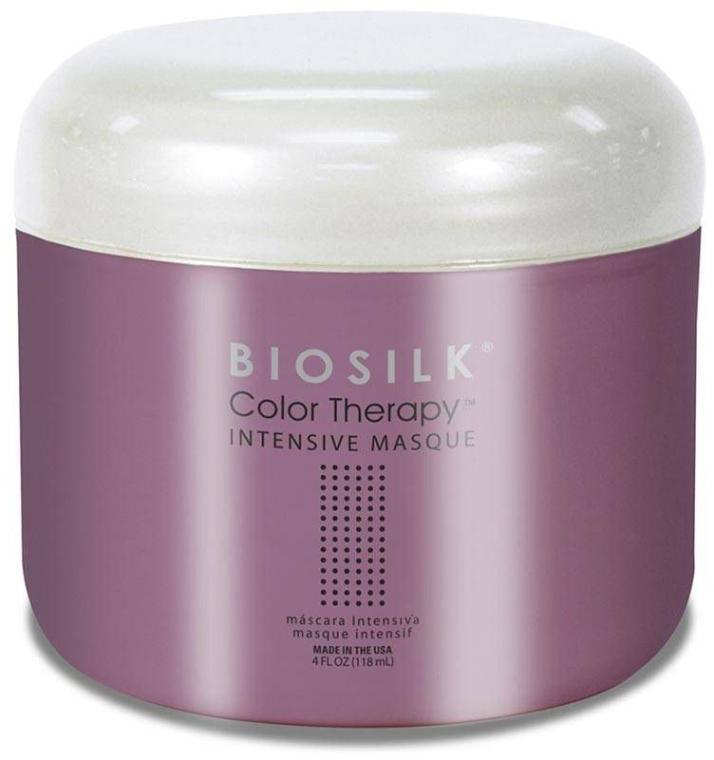 Intensywna maska do włosów - BioSilk Color Therapy Intensive Masque — фото N1