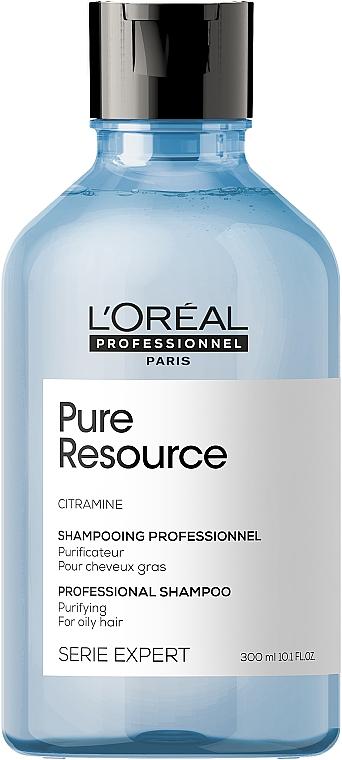 Szampon oczyszczający do włosów przetłuszczających się - L'Oreal Professionnel Pure Resource Purifying Shampoo