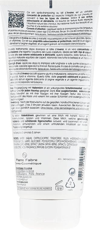 Odżywka na bazie mleczka z owsa - Klorane Conditioner with Oat Milk — фото N2