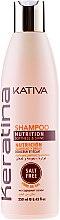 Kup Nawilżający szampon do włosów z keratyną - Kativa Keratina Shampoo