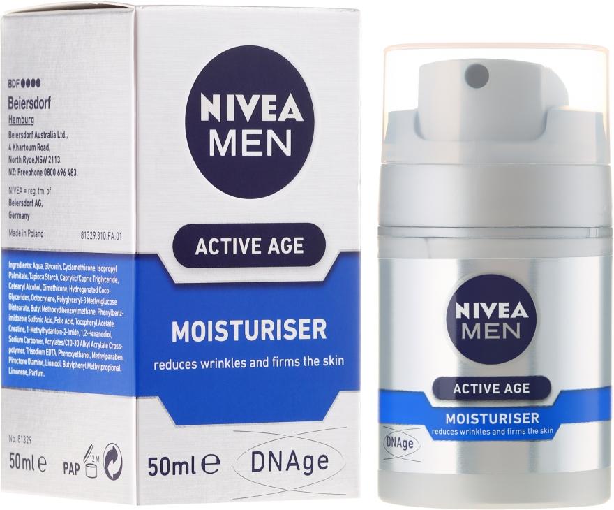 Krem przeciw starzeniu się skóry dla mężczyzn - Nivea Men Active Age Moisturiser — фото N1