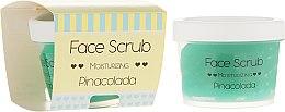 Kup Nawilżający peeling do twarzy i ust Piña colada - Nacomi Moisturizing Face & Lip Scrub Pinacolada