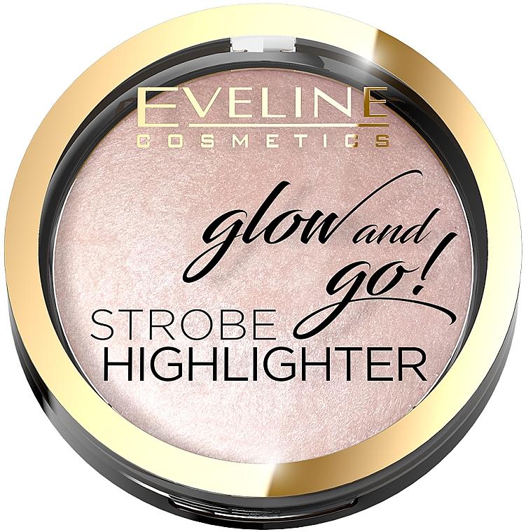 Rozświetlacz wypiekany - Eveline Cosmetics Glow and Go!