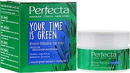 Kup Krem-maska na noc przeciw niedoskonałościom - Perfecta Your Time Is Green