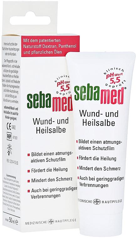 Maść wspomagająca gojenie się ran - Sebamed Wund- und Heilsalbe — фото N2