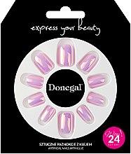 Kup Zestaw sztucznych paznokci z klejem, 3052 - Donegal Express Your Beauty