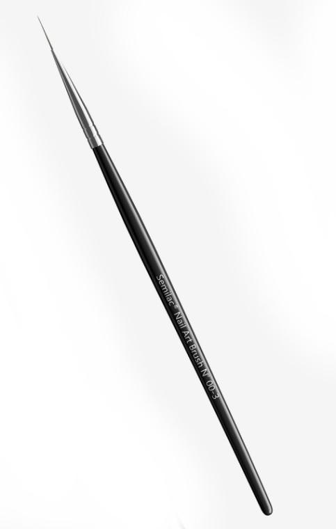 Pędzelek do paznokci nr 00-3 - Semilac Nail Art Brush N 00-3 — фото N1