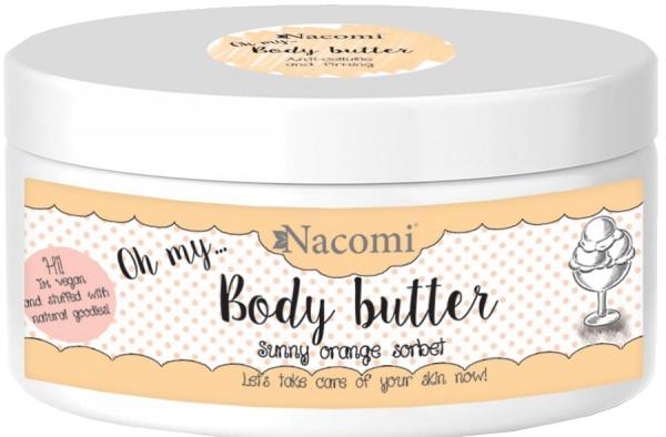 Masło do ciała Pomarańczowy sorbet - Nacomi Body Butter