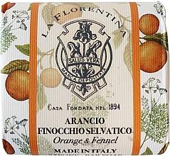 Kup Naturalne mydło do rąk w kostce Pomarańcza i koper włoski - La Florentina Orange & Wild Fennel Natural Soap