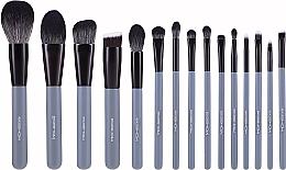 Kup Zestaw pędzli do makijażu, 15 szt. - Eigshow Beauty Agate Grey Brush Kit