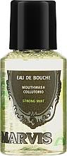 Kup Skoncentrowany płyn do płukania jamy ustnej - Marvis Concentrate Strong Mint Mouthwash (miniprodukt)