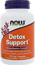 Wegańskie kapsułki wspomagające oczyszczanie organizmu - Now Foods Detox Support — фото N1