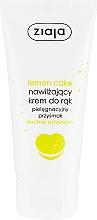 Kup Nawilżający krem do rąk Okrutnie cytrynowy - Ziaja Pielęgnacyjny przysmak Lemon Cake