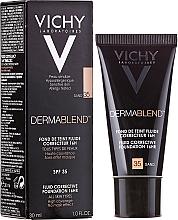 Kup PRZECENA! Podkład korygujący o przedłużonej trwałości - Vichy Dermablend Fluid Corrective Foundation 16HR*