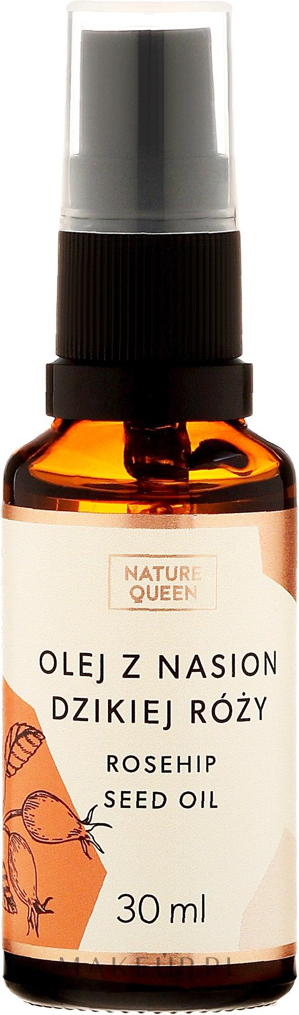 Olej z nasion dzikiej róży - Nature Queen Rosehip Seed Oil — фото 30 ml