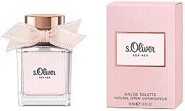 Kup S.Oliver For Her - Woda toaletowa dla kobiet