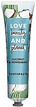 Kup Pasta do zębów, Kokos i aloes - Love Beauty And Planet Coconut & Peppermint Toothpaste