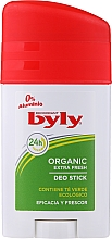 Kup Dezodorant w sztyfcie - Byly Organic Extra Fresh 48h Deodorant Stick