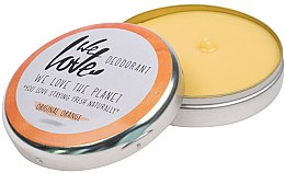 Kup Naturalny dezodorant w kremie - We Love The Planet Deodorant Original Orange
