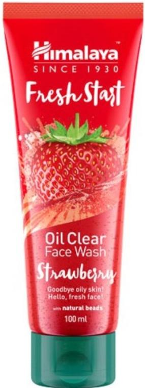 Żel do mycia twarzy Truskawka - Himalaya Herbals Fresh Start Oil Clear Face Wash Strawberry