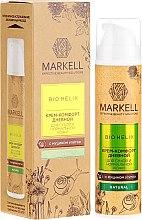 Kup Krem z ekstraktem ze śluzu ślimaka do skóry suchej i normalnej - Markell Cosmetics Bio-Helix Comfort Day Cream With Snail Mucin
