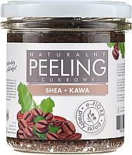Kup Naturalny peeling cukrowy Shea + kawa - E-Fiore