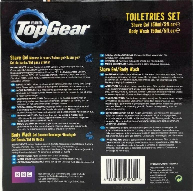 Zestaw - Top Gear Duo Set (sh/gel/150ml + b/wash/150ml) — фото N2