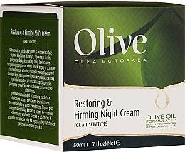 Kup Odbudowujący krem do twarzy na noc - Frulatte Olive Restoring Firming Night Cream