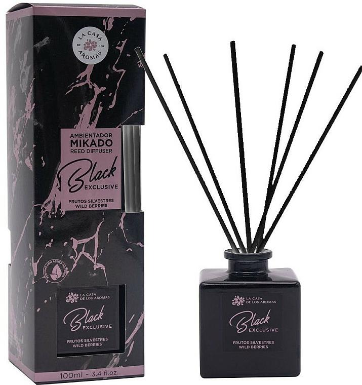 Dyfuzor zapachowy - La Casa de los Aromas Mikado Exclusive Black — фото N1
