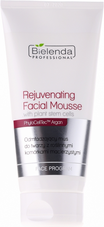 Odmładzający mus do twarzy z roślinnymi komórkami macierzystymi - Bielenda Professional Face Program — фото N1