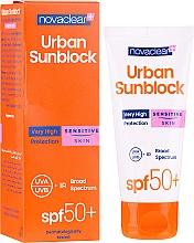 Kup Krem ochronny przeciw promieniom UV do skóry wrażliwej - Novaclear Urban Sunblock Protective Cream Sensitive Skin SPF50