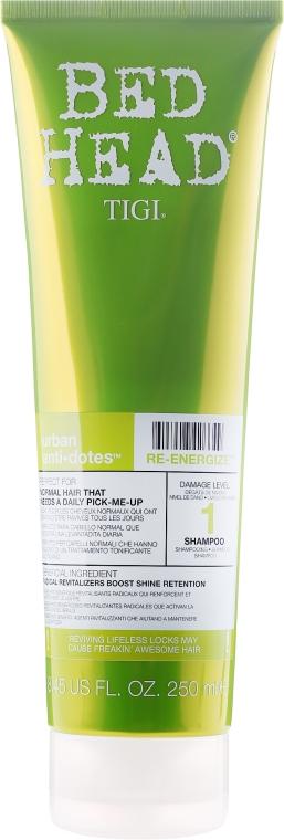 Wzmacniający szampon do włosów normalnych - Tigi Bed Head Urban Antidotes Re-Energize Shampoo