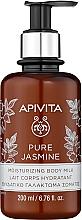 Kup Nawilżające mleczko do ciała Jaśmin - Apivita Pure Jasmine Moisturizing Body Milk