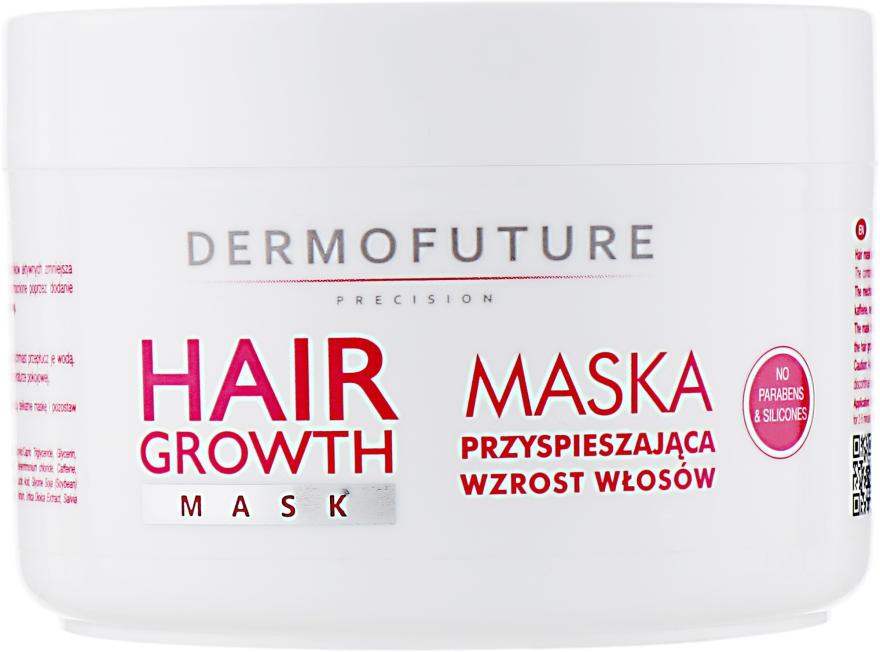 Maska przyspieszająca wzrost włosów - DermoFuture Hair Growth Mask — фото N2