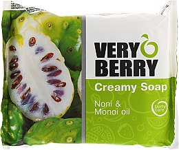 Kup Kremowe mydło w kostce Morwa indyjska noni i olej monoi - Very Berry Noni & Monoi Oil Creamy Soap