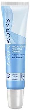 Krem do usuwania włosów na twarzy z aloesem - Avon Works
