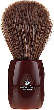 Kup PRZECENA! Pędzel do golenia 12705 - Vie-Long Peleon Horse Hair Shaving Brush Red Handle *