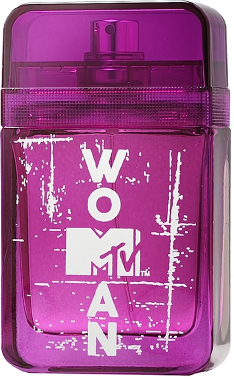 MTV Perfumes MTV Woman - Woda toaletowa — фото N4
