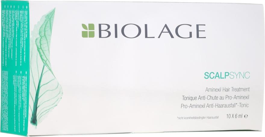 Kuracja w ampułkach zapobiegająca wypadaniu włosów - Biolage Scalpsync Aminexil Hair Treatment