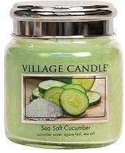 Kup Świeca zapachowa w szkle - Village Candle Sea Salt Cucumber Candle