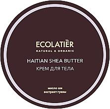 Kup Nawilżający krem do ciała Haitańskie masło shea - Ecolatier Haitian Shea Butter Body Cream