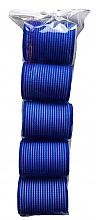 Kup Wałki do włosów na rzep, 498788, 48 mm, niebieskie - Inter-Vion