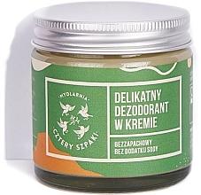 Kup Delikatny bezzapachowy dezodorant w kremie - Cztery Szpaki