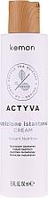 Kup Odżywka nawilżająca do włosów suchych - Kemon Actyva Nutrizione Istantanea Cream