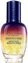 Kup Przeciwzmarszczkowe serum do twarzy na noc - L'Occitane Immortelle Overnight Reset Oil-In-Serum