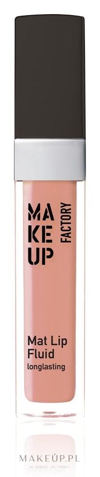 Długotrwały błyszczyk do ust - Make up Factory Mat Lip Fluid Longlasting — фото 12