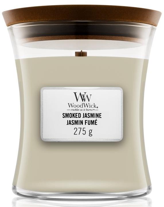 Świeca zapachowa w szkle - WoodWick Hourglass Candle Smoked Jasmine — фото N1
