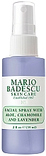 Spray do twarzy z aloesem, rumiankiem i lawendą - Mario Badescu Facial Spray Aloe, Chamomile And Lavender — фото N1